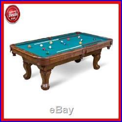 87 Pool Table Billiard Billiards Set Light Cues Balls Chalk Triangle Brush NEW