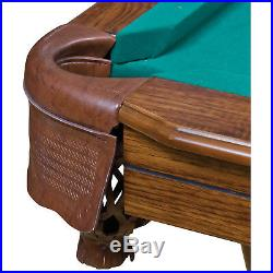 87in Pool Table 7 Foot Billiard Man Cave Essential Accessories Fancy 87 In Cloth