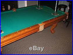 8' BRUNSWICK POOL TABLE CAMDEN II THE GAME ROOM STORE NEW JERSEY DEALER
