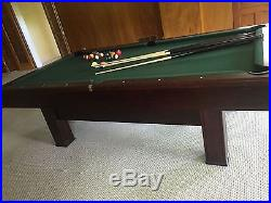 8' Brunswick pool table 2008