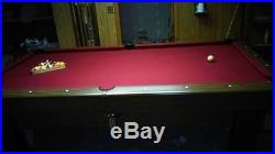 8 FT Tournament Style Pool Table. Great Shape
