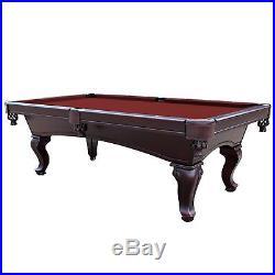 8 Feet Billiards Cloth Pool Table Felt Burgundy Superior Stretching Capability