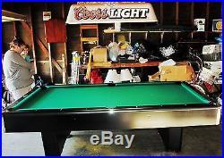 8 Foot Addison Billiards / Pool Table