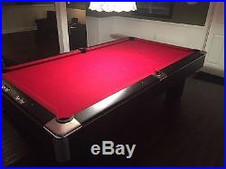 8 Foot Beautiful Slate Pool Table