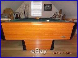 8 Foot SLATE Pool Table with Accessories