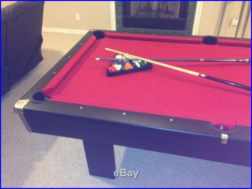 8 Ft Brunswick pool table