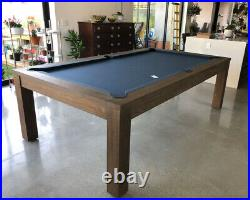 8 Ft Soho Pool Table Dining Top Tennis Top Free Installation