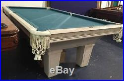 8' Leisure Bay Pool Table with Tapered Legs