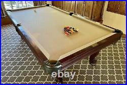 8 Olhausen Queen Ann Pool Table With High Quality Slate