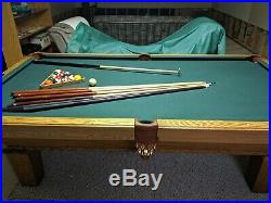 8 Olhausen Slate Pool Table