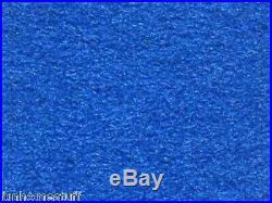 8' Pre Cut Billiard 8ft Pool Table Cloth Replacement Felt Fabric EURO BLUE Color