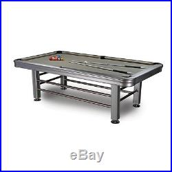8' Tropicana Outdoor Pool Table Accessories Included