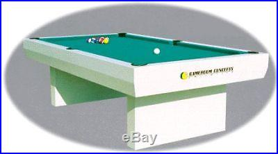 8 foot ALL WEATHER OUTDOOR POOL TABLE ~1000 SERIES~ NEW