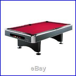 8 foot BLACK SHADOW / BLACK PEARL BILLIARD POOL TABLE by BERNER BILLIARDS NEW