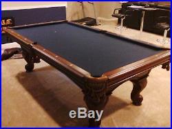 8 ft. American Heritage Pool Table