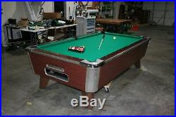 8 ft Arcade Pool Table New Cloth Ready to Go