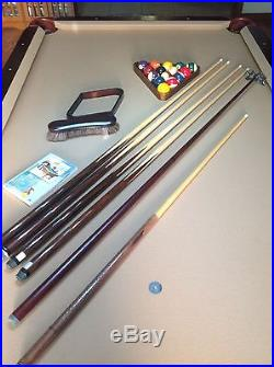 8 ft Beach Lancaster POOL TABLE Complete Set with Extras FT LAUDERDALE PICK-UP