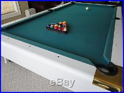 8 ft. Kasson Pool Table with slate bed