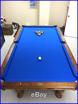 8 ft Olhausen Americana Pool Table