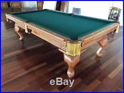 8 ft. Oversized Peter Vitalie Paragon Slate Pool Table