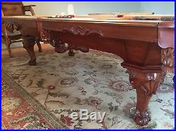 8 ft. Peter Vitalie Comme Chippendale Slate Pool Table