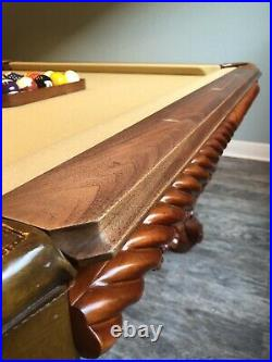 8 ft. Pro Peter Vitalie Tsunami Slate Pool Table