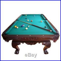 8 ft. Profi Pool Billardtisch Billiardtisch Billard mit Naturschiefer 430Kg