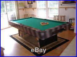 8 ft Saunier Wilhelm Slate top pool table