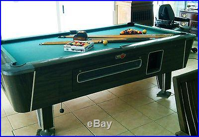 8 ft Slate Valley Pool Table