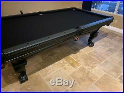 8ft Brunswick Poseidon Pool Table IN STOCK Free Shipping