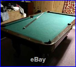 8ft eastpoint pool table, non-slate. Excellent condition