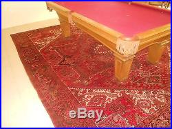 8x4 1/2 FOOT OLHAUSEN POOL TABLE