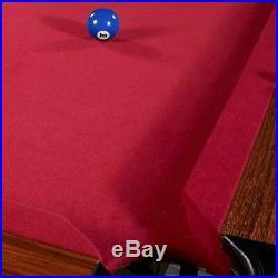 96 Pool Table Billiard Set Game Room Snooker Cue Set Full Accessories Kit 8 Ft