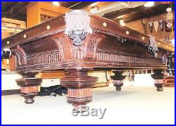 9' 150th Anniversary Brunswick Jewel Pool Table