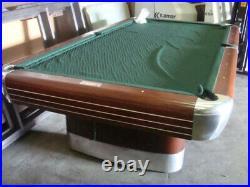 9' Antique Brunswick Anniversary Pool Table
