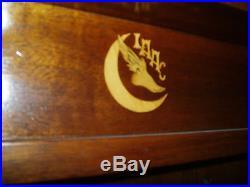 9' Antique Brunswick Billiards Medalist Pool Table