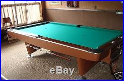 9' BRUNSWICK GOLD CROWN 2 POOL TABLE FROM DEALER THE GAME ROOM STORE NJ