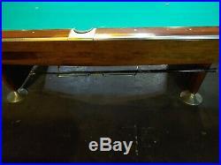 9' BRUNSWICK GOLD CROWN I Pool Table (RARE) 9FT Pocket Billiards