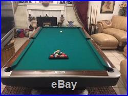 9' Brunswick Gold Crown 5 Pool Table