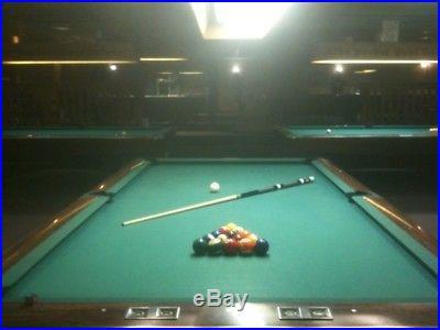 9' Brunswick Gold Crown III Professional Pool Table