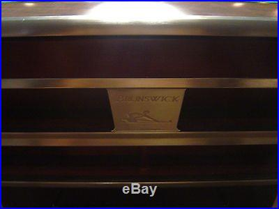 9' Brunswick Gold Crown IV pool table