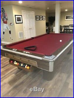9 Brunswick Pool Table