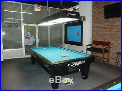 9' Diamond PRO-AM Professional Pool Table & Matching Lights LED Score Balls