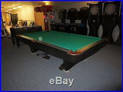 9 FT Brunswick POOL TABLE With Local Setup