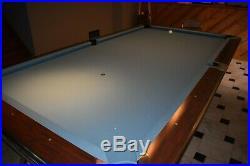 9 Foot Brunswick Billiard Professional Gold Crown 4 Pocket Pool Table