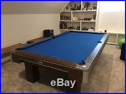 9 Ft Gandy Pool Table