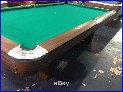 9' National Pool Table