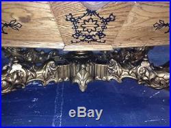 9' Victorian Goldenwest Pool Table / Billiard Table