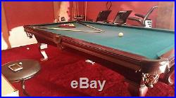 9 ft, Olhausen Eclipse Pool Table, Cherry Wood Finish