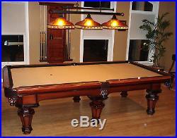 Peter Vitalie Pool Table, Le Mieux, WithAccessory Kit, Billiard Light